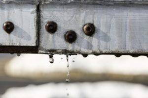 water rust